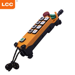F24-8D AC 36V 110V 220V 8 button double speed hydraulic crane wireless radio remote control