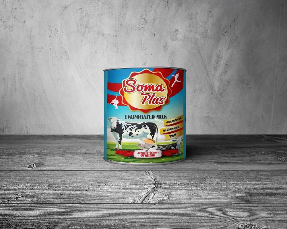 Soma Plus Evaporated Milk