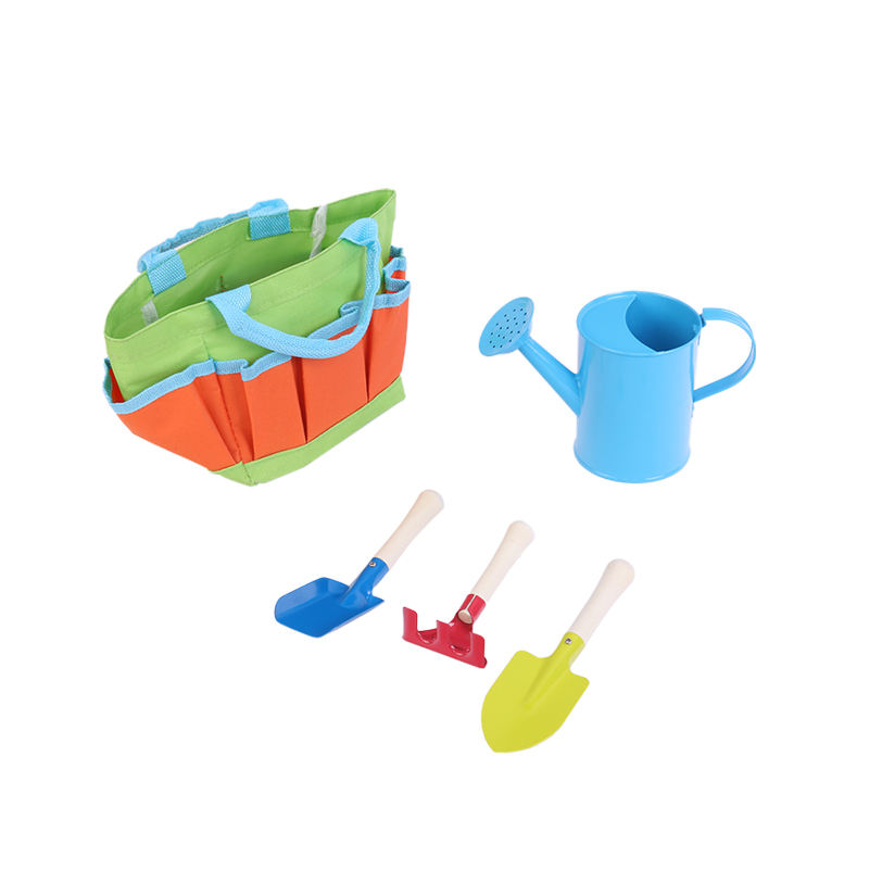 2020 Ronix GT6502 New Style Kids Mini Garden Hand Tools Toys Plastic Set Sale For Weeding