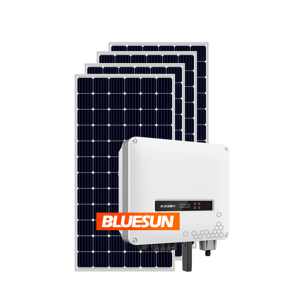 High efficiency solar panel 10kw price paneles solares 10000 w energy system on grid 1kw solar panels system 1000w