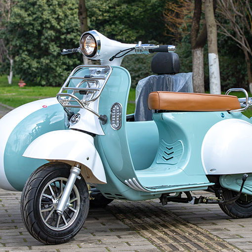 Vintage <span class=keywords><strong>Vespa</strong></span> Uberscoot almacén Scooter Eléctrico