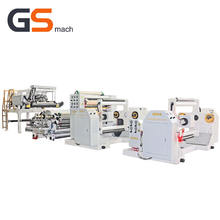 Plastic aluminum foil laminated pet roll film machine