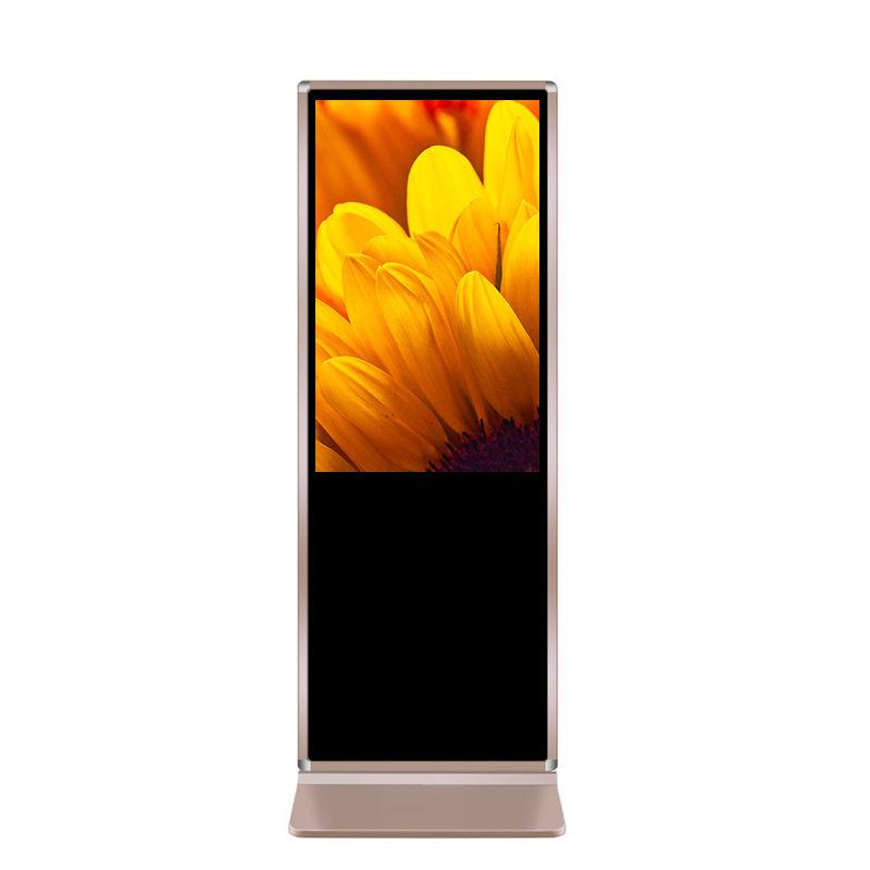 Bordo scaffale digitale a cristalli liquidi del display a cristalli liquidi di trasporto digital signage lettore video