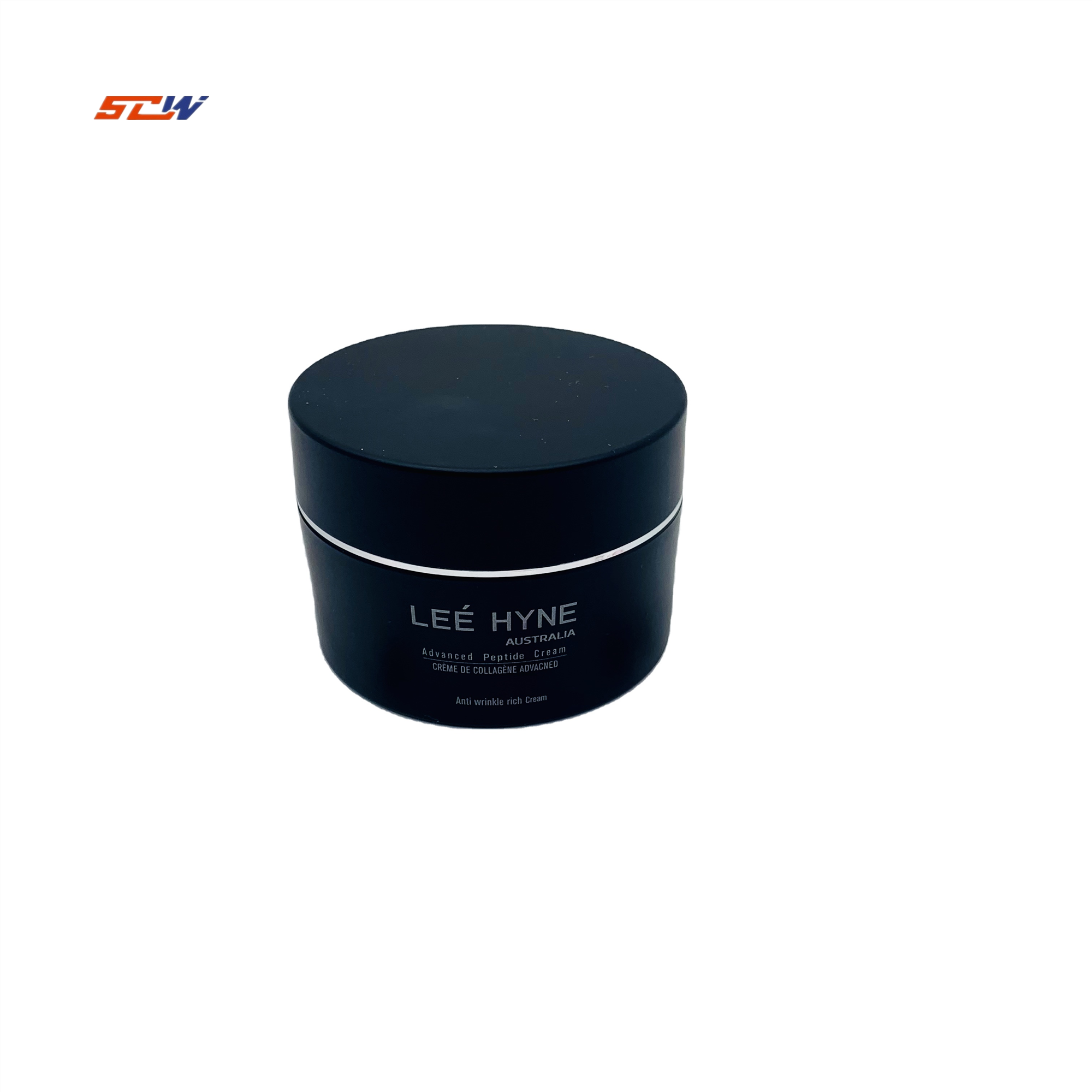 Free Sample 50g Acrylic Cream Jar Cosmetic Cream Plastic Jar Matte Black Plastic Jar