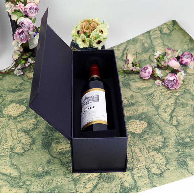 Luxury Leather Wine Box Wine Bottle Packaging Box