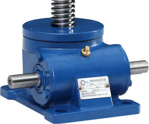 Worm Gearbox screw jack for machine