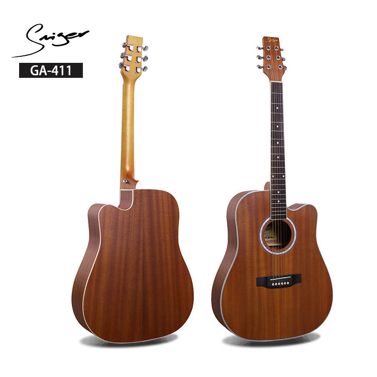 GA-411 <span class=keywords><strong>Điện</strong></span> <span class=keywords><strong>Tử</strong></span> acoustic <span class=keywords><strong>guitar</strong></span> made in trung quốc