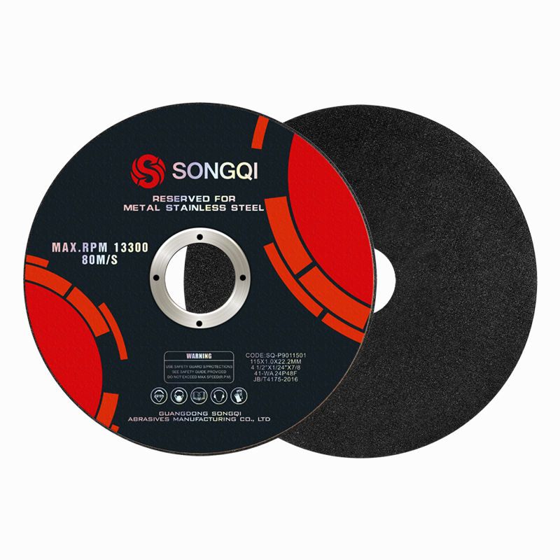 4.5 Inch 115mm abrasive cutting disc for metal cutting