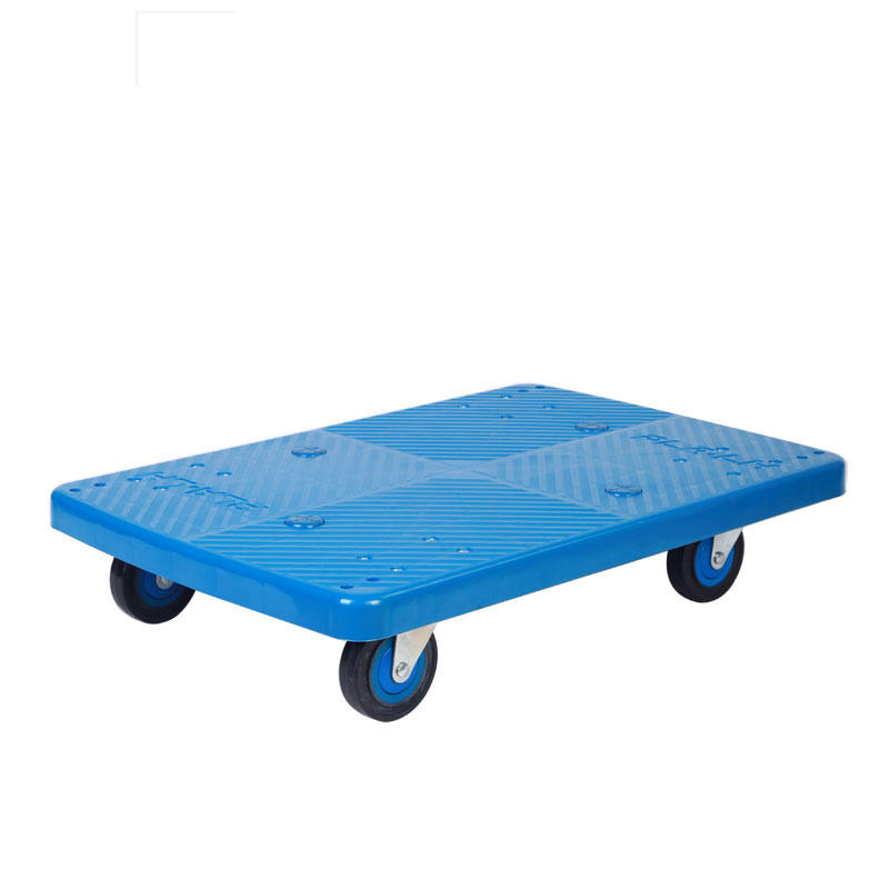 Uni-Silent 150kgs Plastic Multi-function Moving Dolly Trolley Cart PLA150T-DL