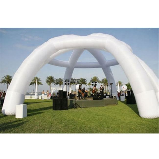 Trắng <span class=keywords><strong>Inflatable</strong></span> Wedding Tent, Lớn <span class=keywords><strong>Inflatable</strong></span> Arches Đảng Tent K5118