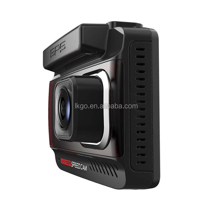 Hot Sale Bahasa Rusia Gps Drive Recorder FHD 1080P <span class=keywords><strong>Mobil</strong></span> DVR Dash Cam Kecepatan <span class=keywords><strong>Peringatan</strong></span> Suara <span class=keywords><strong>Peringatan</strong></span> 3 In 1 combo dengan Radar Detector