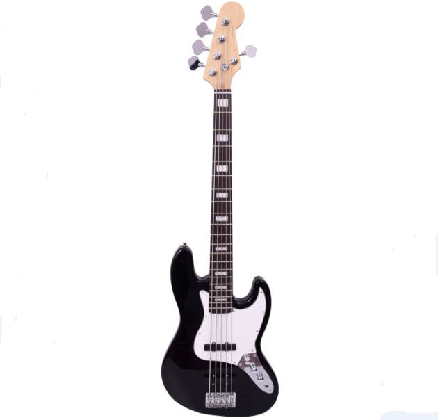 5 Strings Electric Jazz Bass Guitar