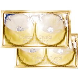 For Women Female Pleura Drine Breast Lifting And Firming Anti Ageing Skin Care Gold Chest Masks Boobs Dry Enlargement Film Mask