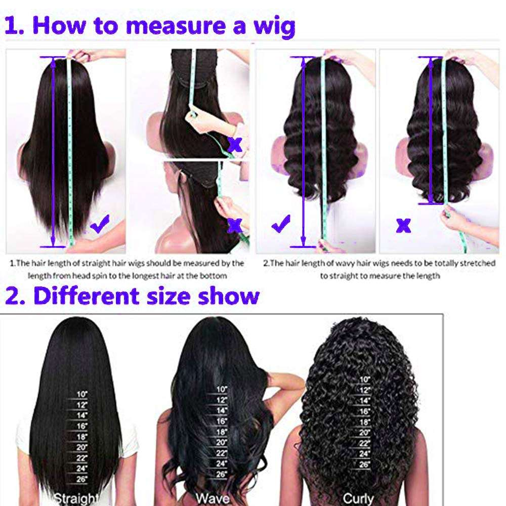 Lace Front Wigs Straight Hair Brazilian Virgin Human Hair Lace Wigs 150%