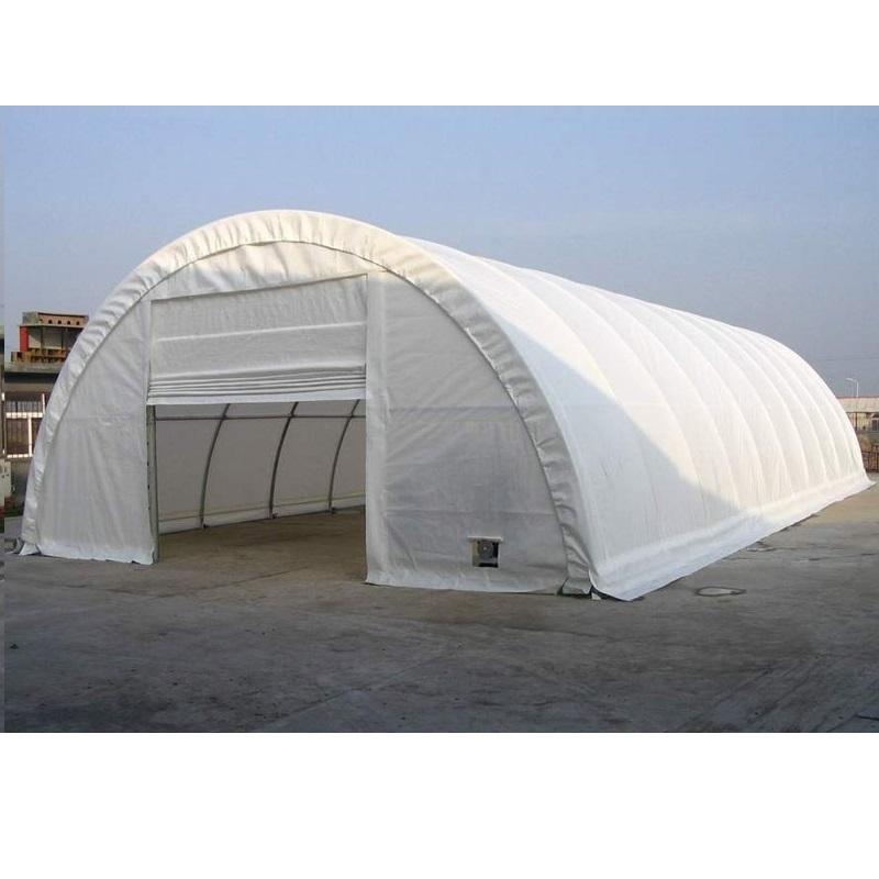Fabric Covered Steel Structure Circular Warehouse
