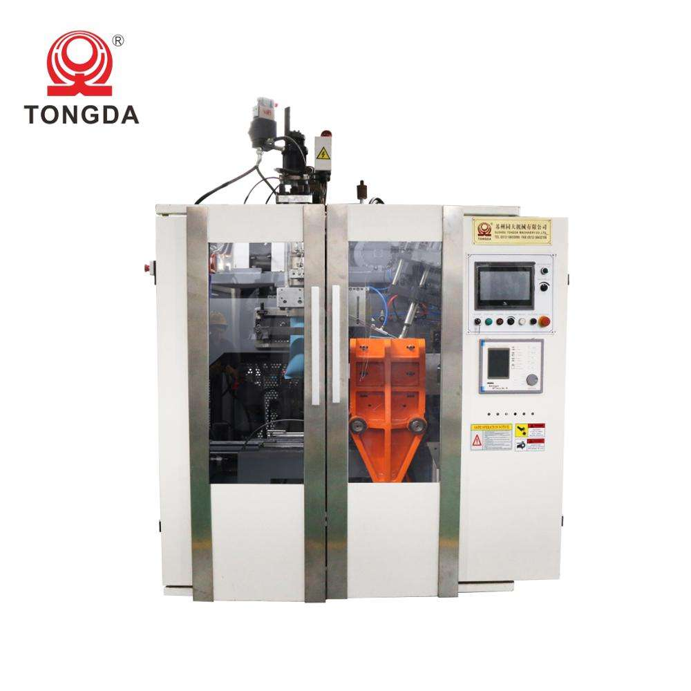 TONGDA HTS 2L Fully automatic hdpe extrusion plastic bottle blow moulding blowing bottle machine for bottles
