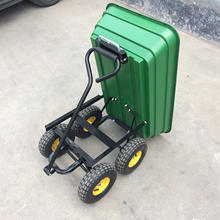 small rail dump cart