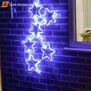 best price Outdoor Star Pole Street xmas Decoration Led Motif Light for holiday decoration