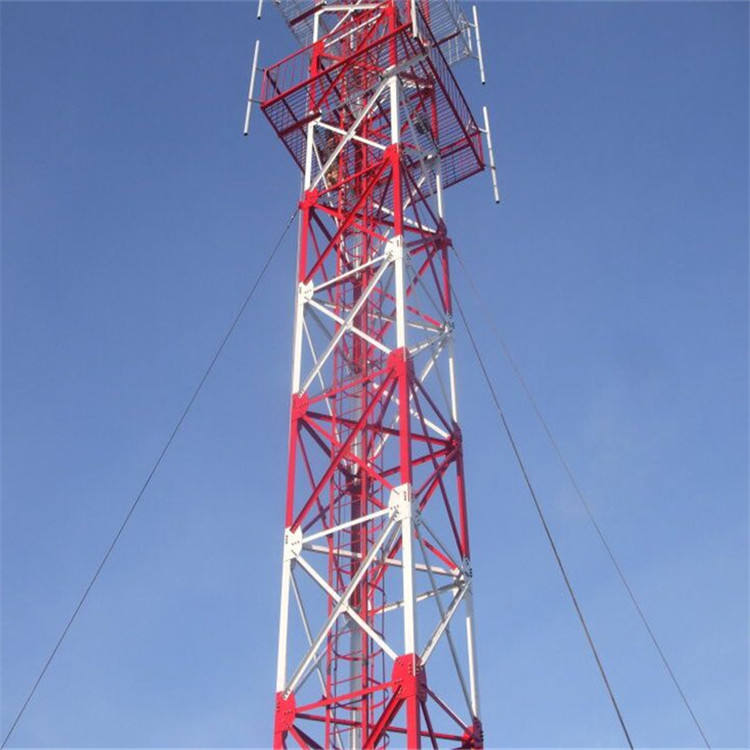 galvanized angle steel antenna mast tower made in China