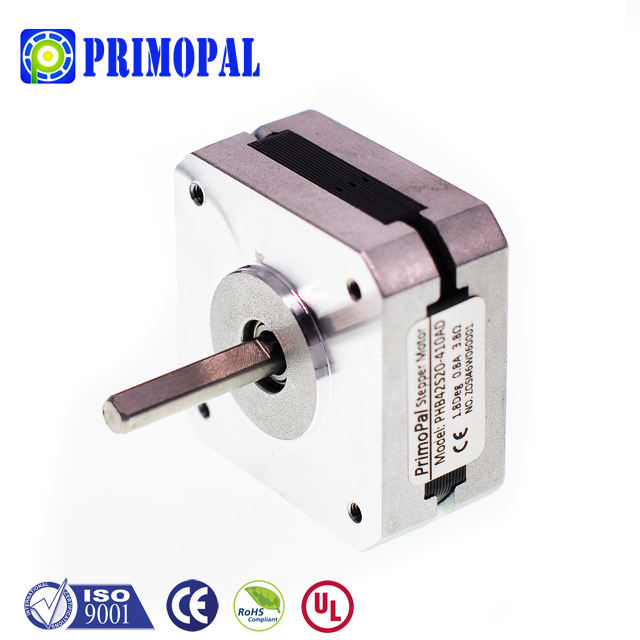 NEMA 17 1.8 degree 28mm length 4 wires 0.6A holding torque 12Ncm 2 phase hybrid stepper motor shaft options single round D-cut