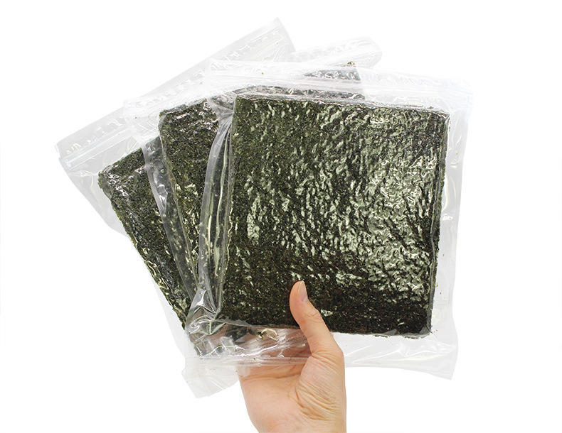 Roasted seaweed Roasted seaweed Grand A full size Origin Type Drak green 100sheets