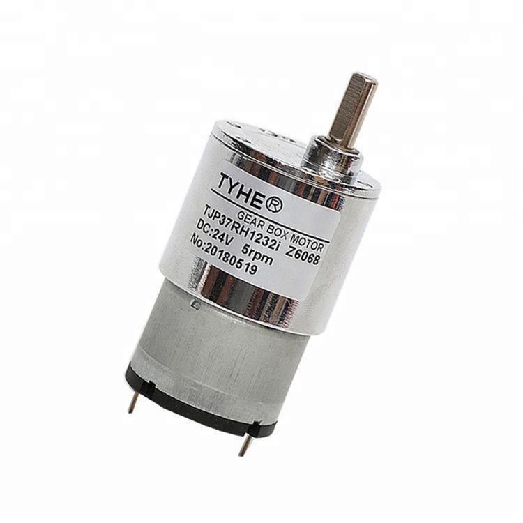 Diamètre de vente chaude 37mm 6v 12v 24 volts 08kgcm 90 tr/min couple élevé 2kg.cm moteur électrique dc moteur avec DU CE pour <span class=keywords><strong>r</strong></span>