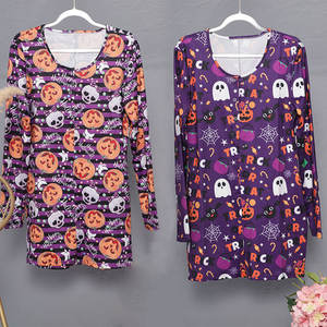 2020 New Latest Wholesale Custom Printing Sexy Plus Size abdl Women's Pajamas Adult Onesie