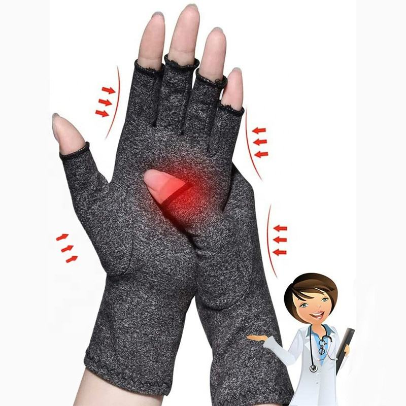 Arthritis Pain Relief Rheumatoid Osteoarthritis Carpal Tunnel Premium Typing Daily Work Cycling Compression Gloves