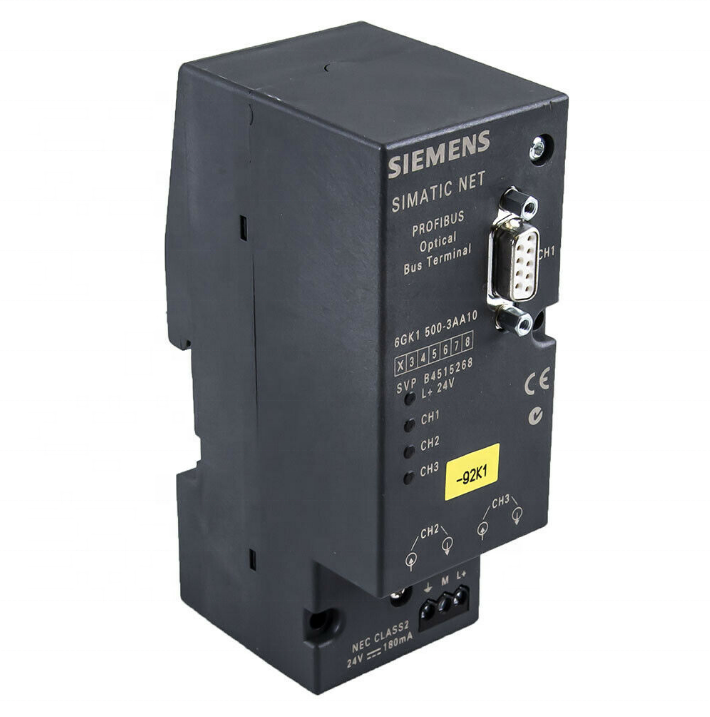 SIEMENS SIMATIC NET OPTICAL BUS TERMINAL 6GK1-500-3AA10
