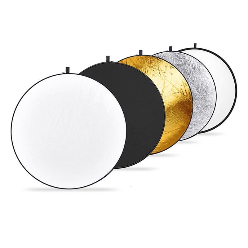Godox 43 Inch 110cm Collapsible 5-in-1 Multi-Disc Photo Photography Reflector With Bag For Studio and Outdoor Photography