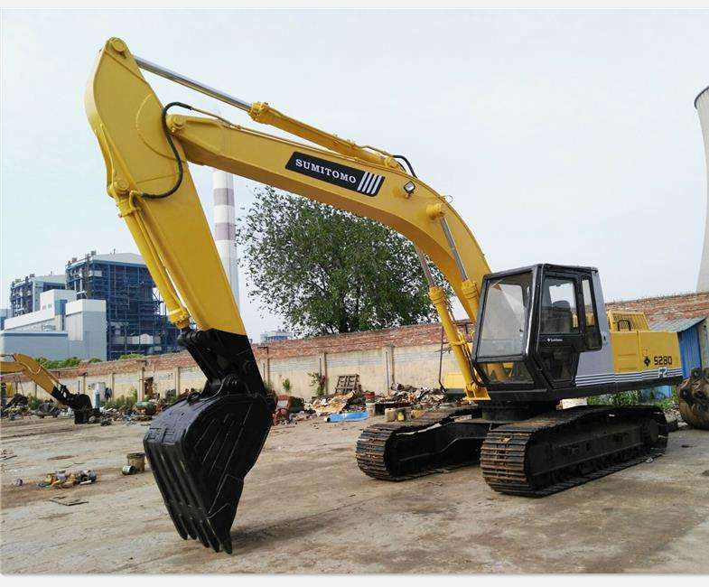 good price 0.7cu.m excavator Sumitomo 280 excavator with Japan origin for sale