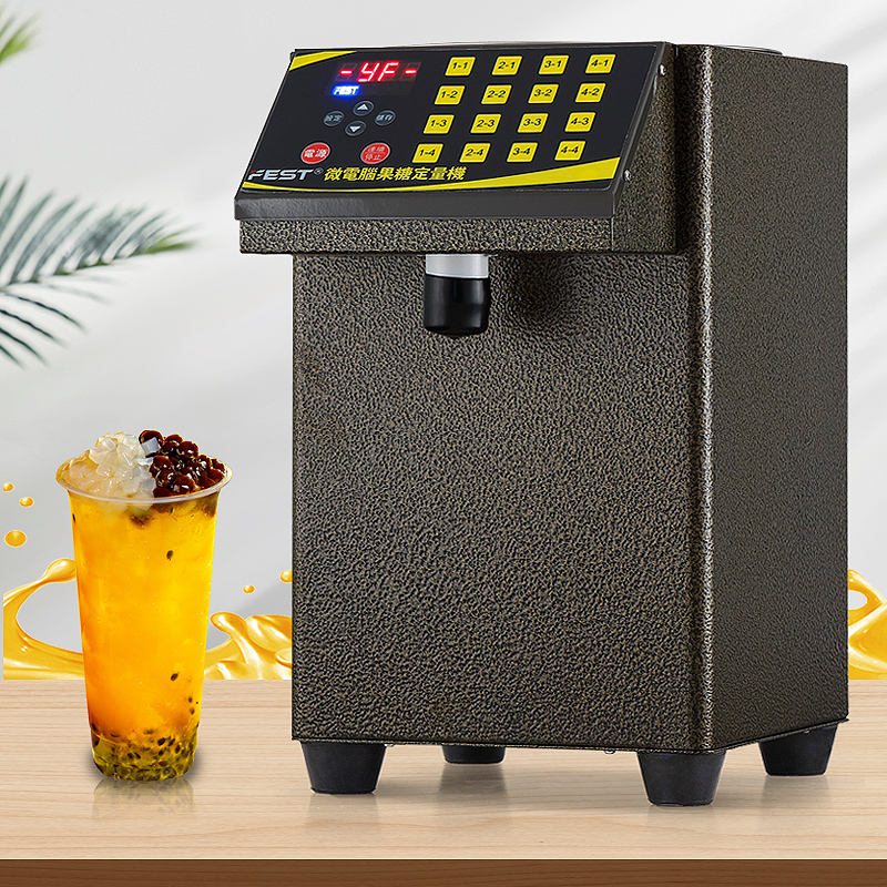 Fructose Machine Home Use Bubble Tea Dispenser Automatic Syrup Machinery