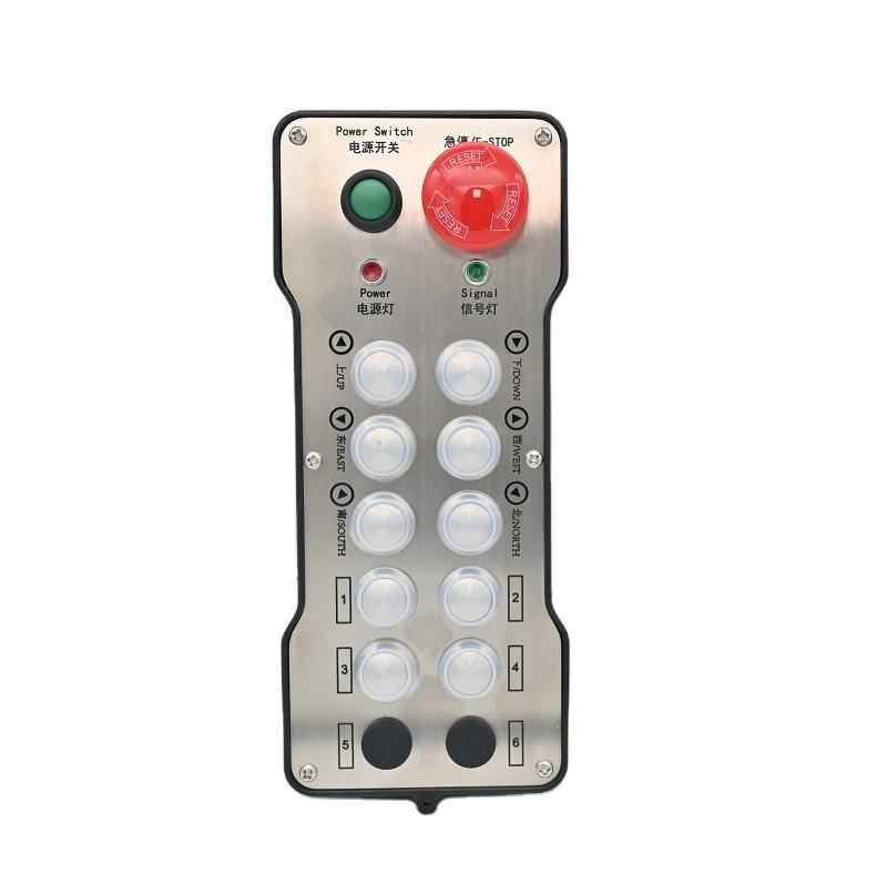 universal crane remote control receiver and receiver for crane hoist elevator