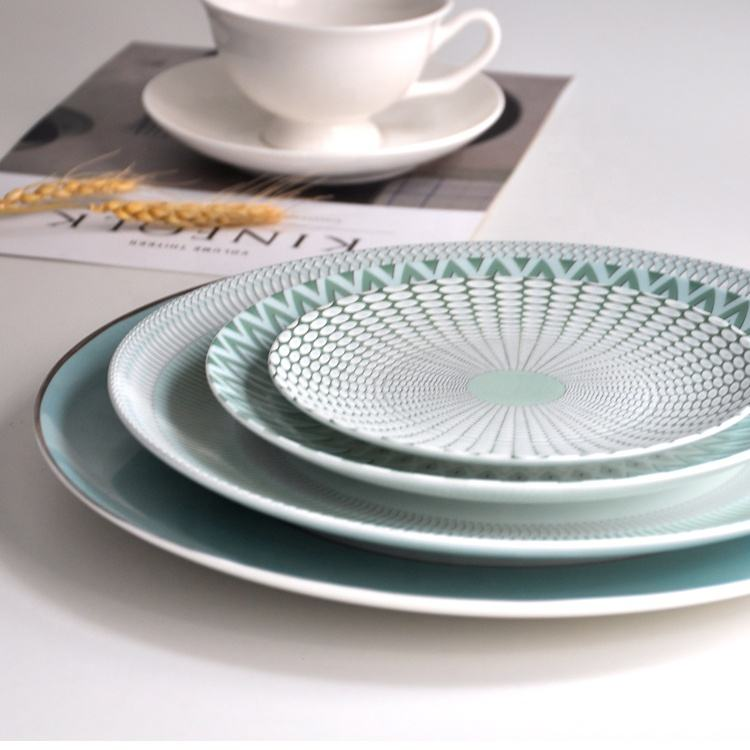 Dinner China Dinner Plates Wholesale Luxury Chic Bone China Dinner Plate For Hotel And Home