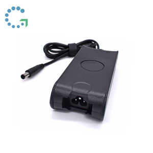 Grosir CE FCC ROHS Sertifikasi 65W 19.5V3.34A 7.4*5.0Mm Pin AC Power Adaptor Charger UNTUK DELL