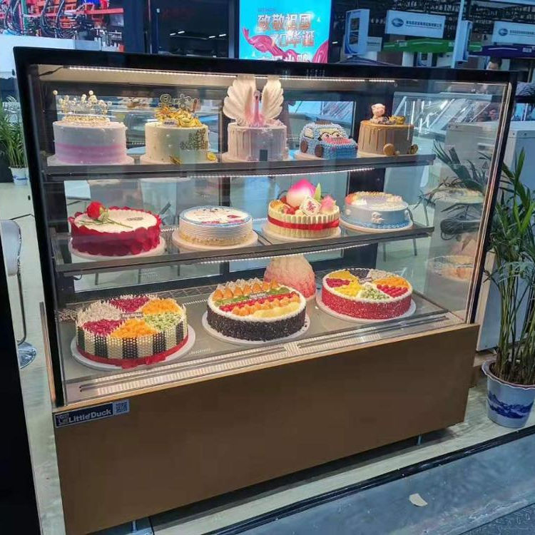 Komersial Showcase Cake Bakery Display