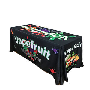 Custom Size Digital Printing Fabric Polyester Spandex Table Cover Cloth