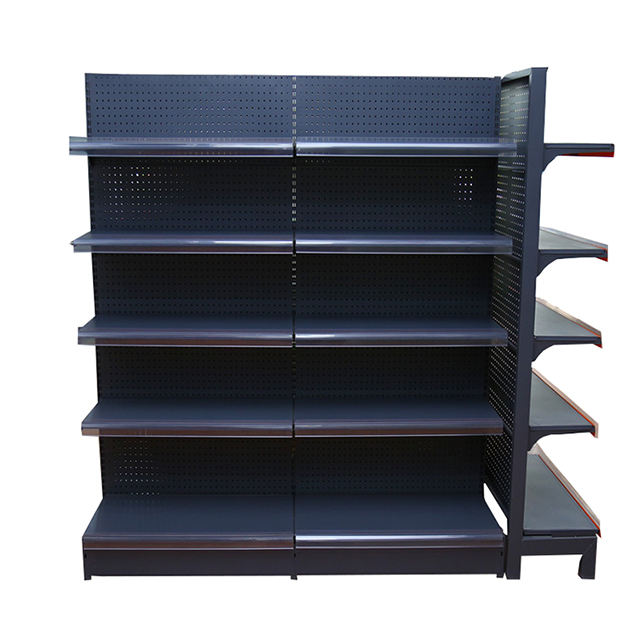 Supermarket Gondola Shelving System Mini Mart Supermarket Display Store Rack Shelf