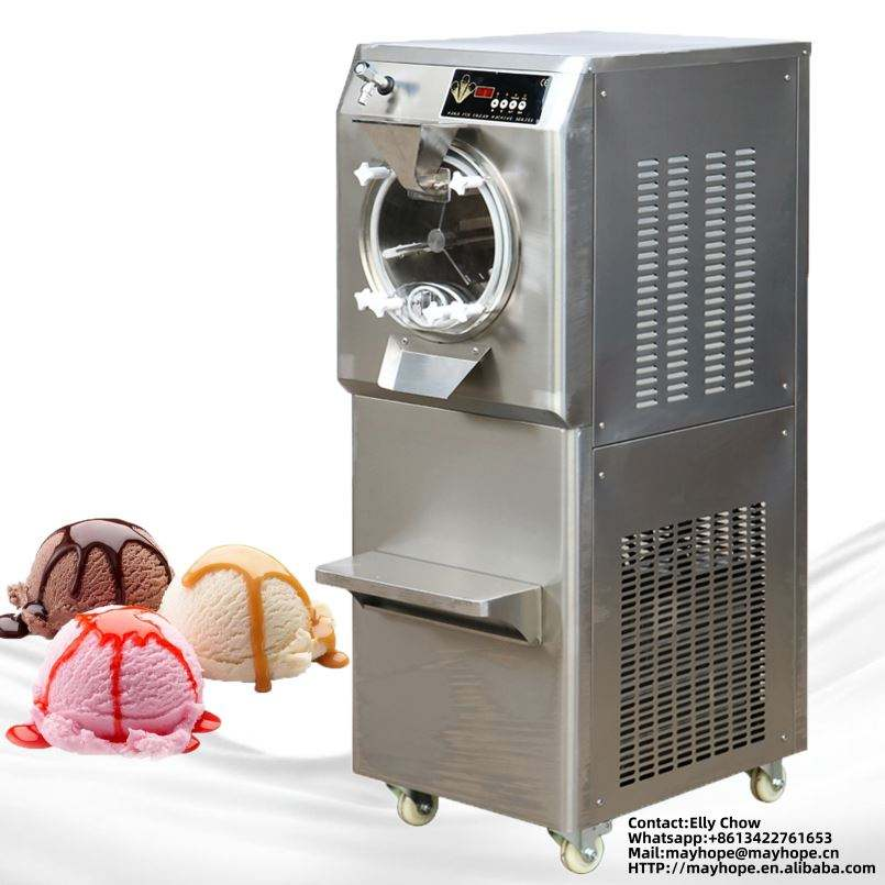 Hot selling machine hard ice cream mixing