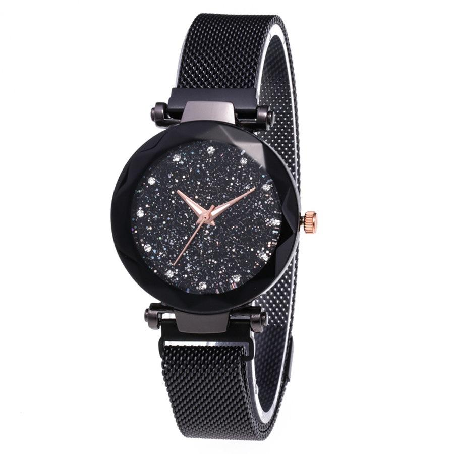 Ultra Thin Bracelet Promotional Items Christmas Gifts Quartz Winter Collections Ladies watches Relojes starry sky watch