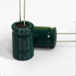 Hot sale  High Frequency 2 Pin Super Aluminum Capacitor