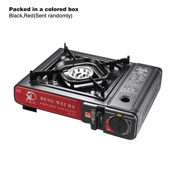 Automatic Ignition Butane Gas Stove with Optional Case Portable automatic ignition cassette stove camping