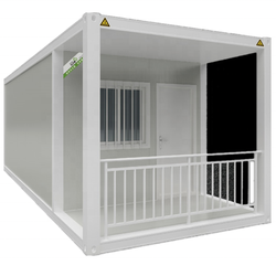 Luxury Suriname Prefabricated Steel Frame Standard Modular Container House