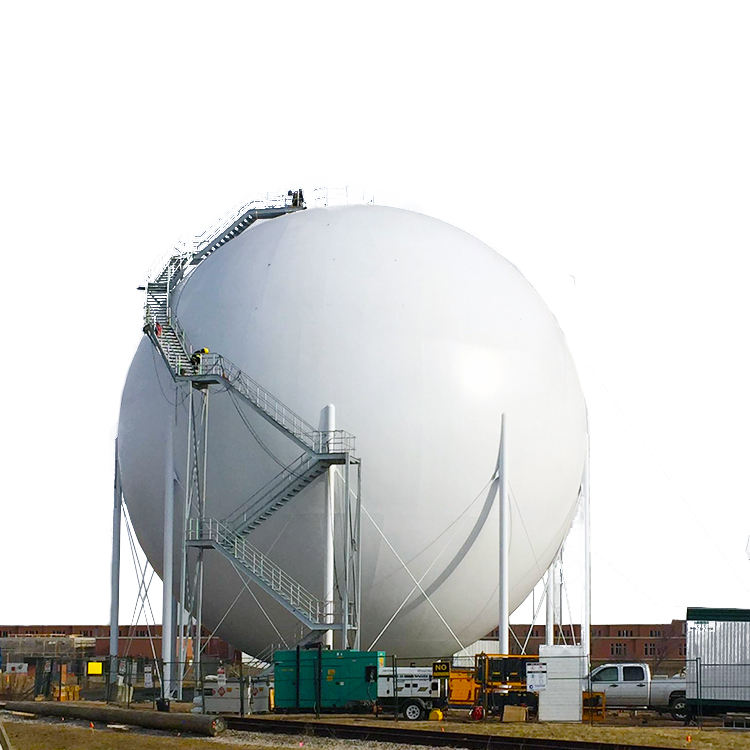 Free Design large Thin-Walled asme Unfired Spherical Boiler stainless steel pressure vessels manufacturer