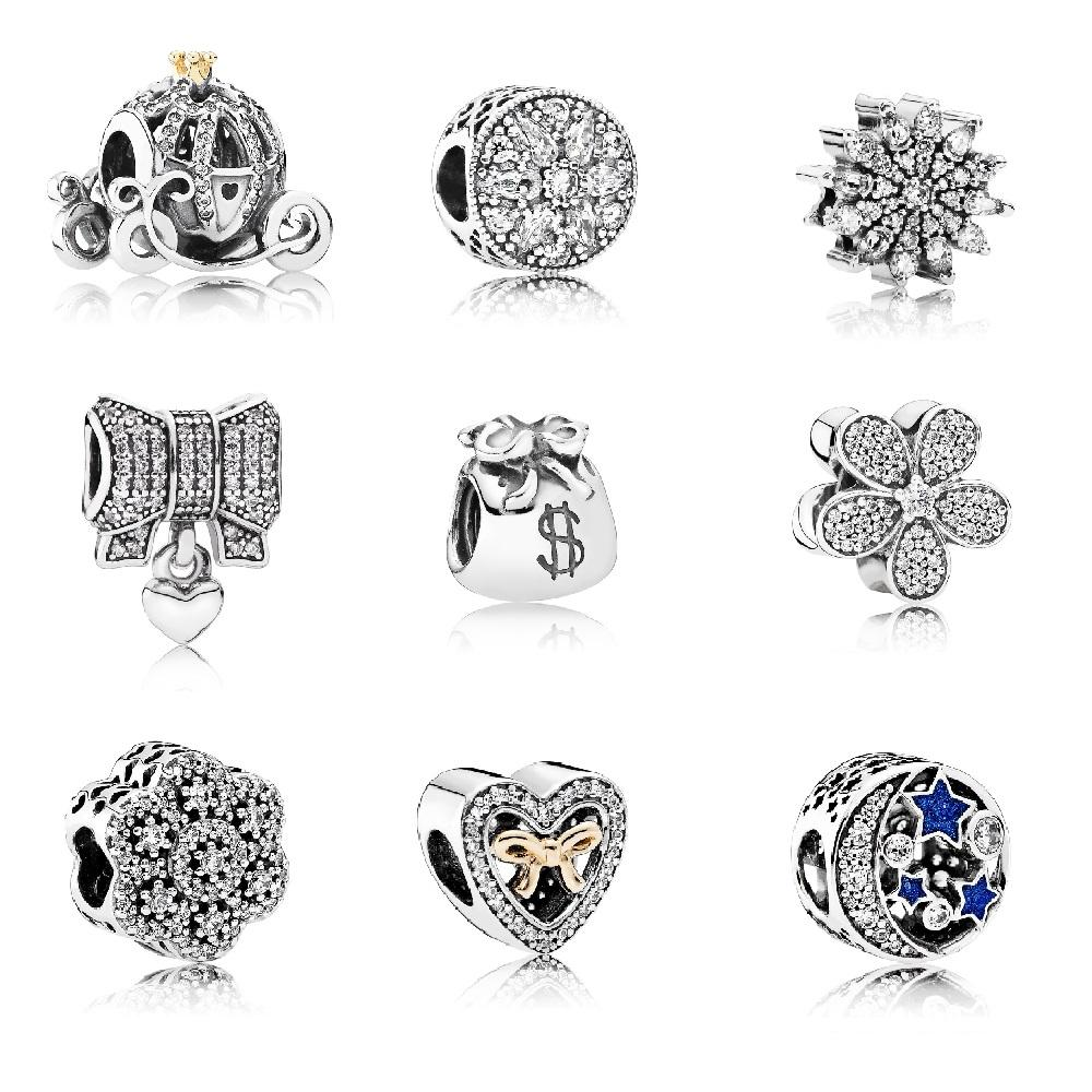 wholesale Pendants Clip Charms 925 Sterling Silver Beads for Pandora