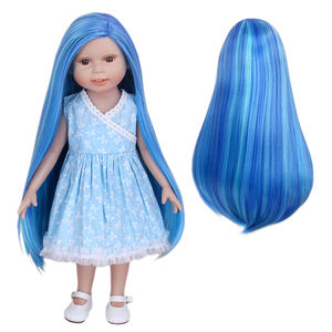18 Inch Pop Pruik Mode Super Golf Celebrity Doll Haar Pruik Voor 18