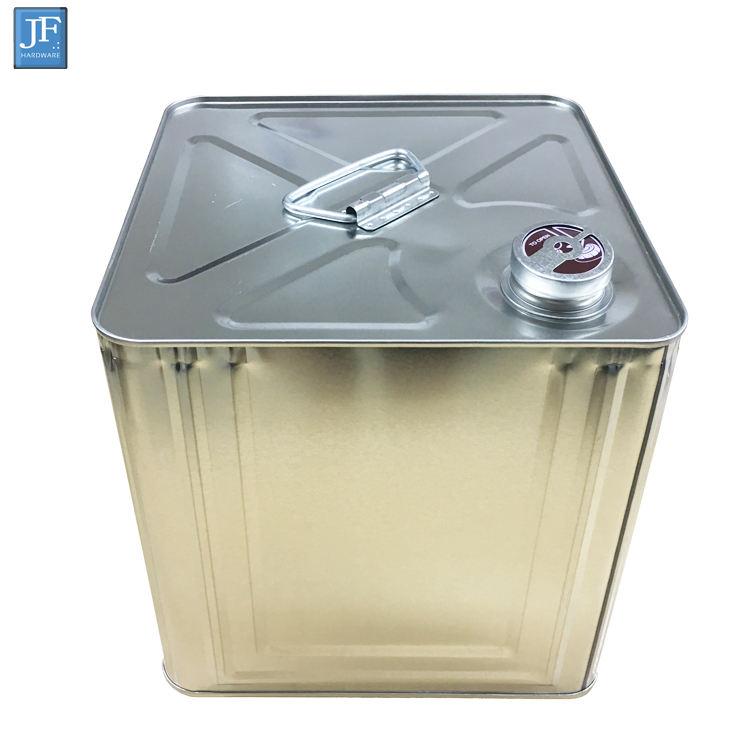 Пустой 10 л/литр квадратный ведро машинное масло Металл Олово Может