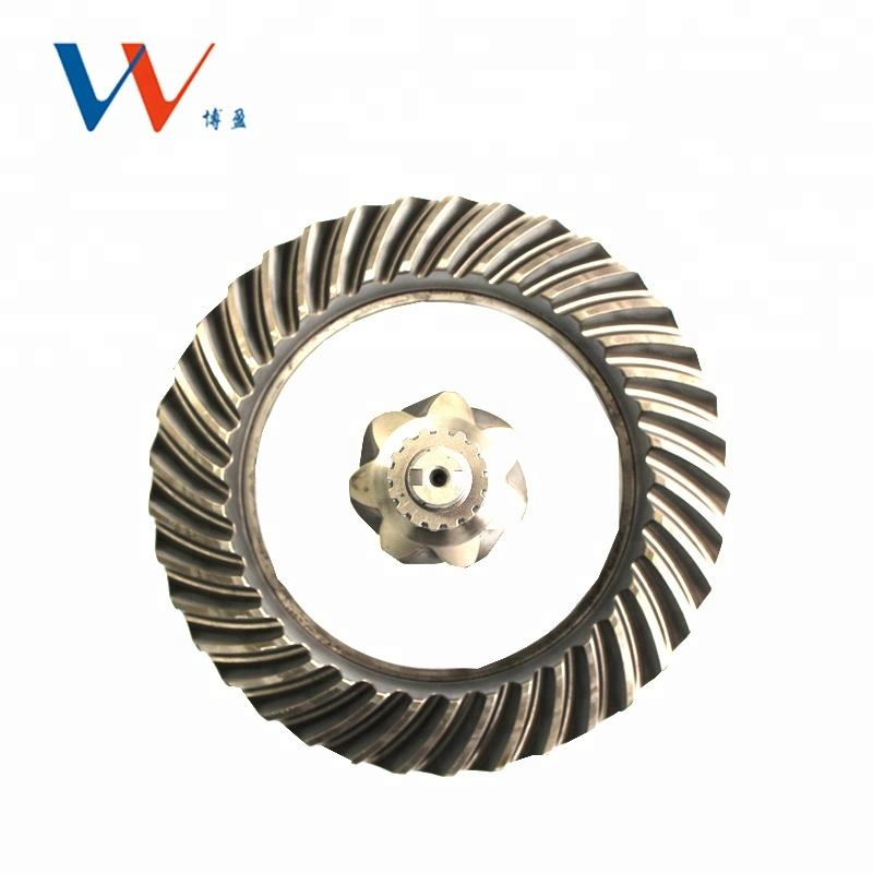 OE5801733548 ratio 14x47 eurocargo truck differential spiral bevel gear set for iveco
