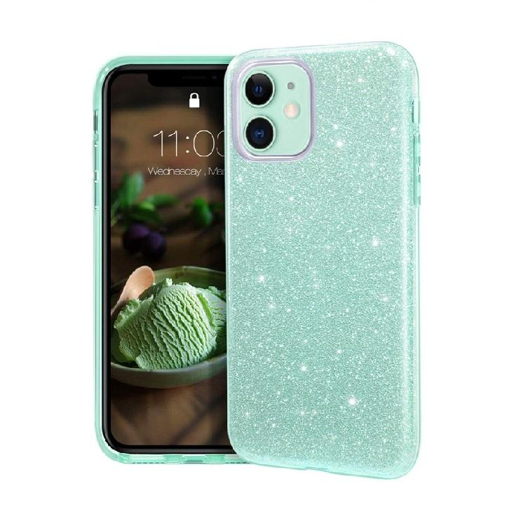 Amazon caliente Ultra Slim mujeres Bling de la Pc del Tpu funda posterior para móvil para Iphone 11 Pro