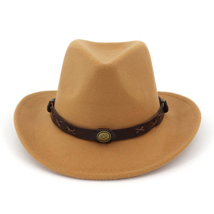 Factory Direct Sales Good Wear-resistant Twister Cattleman Boy Custom Cowboy Hat